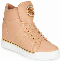 Shoes Women Hi top trainers Guess  Pink
