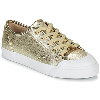 Shoes Women Low top trainers Guess GITNEY3 Gold