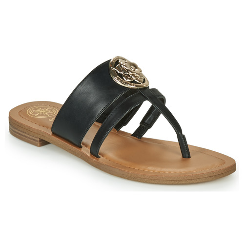 Shoes Women Flip flops Guess GENERA Black