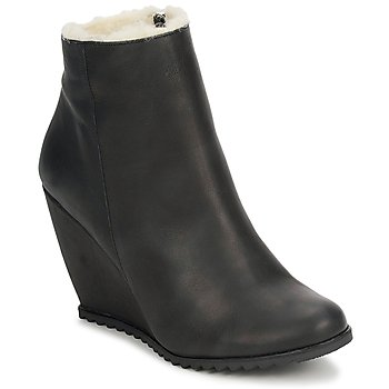 Shoes Women Ankle boots D.Co Copenhagen SALLY ZIPPER  black