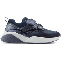 Shoes Girl Low top trainers Geox SINEAD GB SHOES DK_NAVY