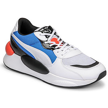 Shoes Men Low top trainers Puma RS 9.8 MERMAID White / Black / Blue