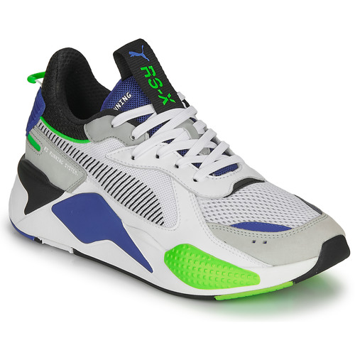 Shoes Men Low top trainers Puma RS-X TOYS White / Blue / Grey