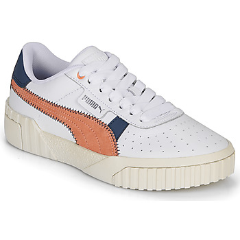 Shoes Women Low top trainers Puma CALI White / Rust / Marine