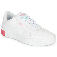 Shoes Girl Low top trainers Puma CALI White