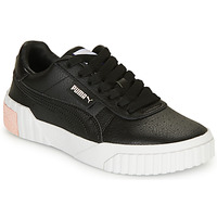 Shoes Girl Low top trainers Puma CALI Black