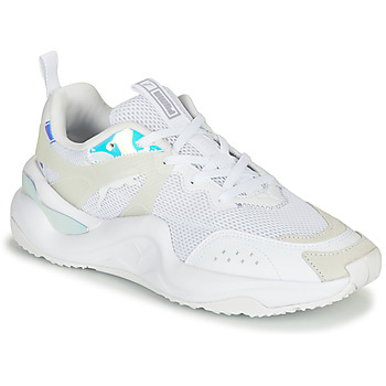 Shoes Women Low top trainers Puma RISE Glow White