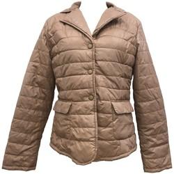 Clothing Women Duffel coats By La Vitrine Doudoune Beige  HK2028 Beige