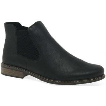 Shoes Women Mid boots Rieker Elton Womens Chelsea Boots black