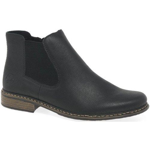 Shoes Women Mid boots Rieker Elton Womens Chelsea Boots black