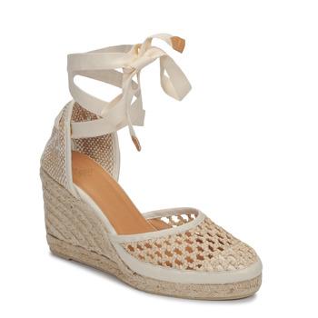 Shoes Women Sandals Castaner CAROLA Cream