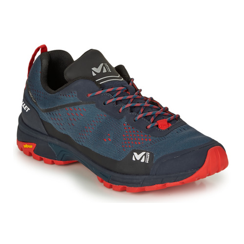 Shoes Men Walking shoes Millet HIKE UP Blue / Red