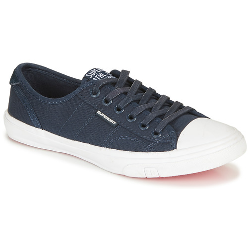 Shoes Women Low top trainers Superdry LOW PRO SNEAKER Marine