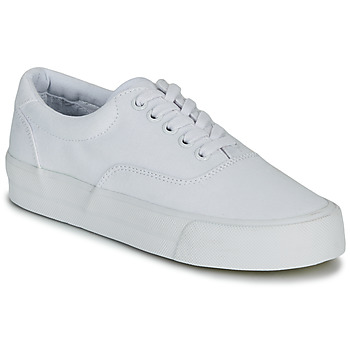 Shoes Women Low top trainers Superdry CLASSIC LACE UP TRAINER White