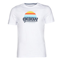 Clothing Men short-sleeved t-shirts Oxbow M1TEKSO White