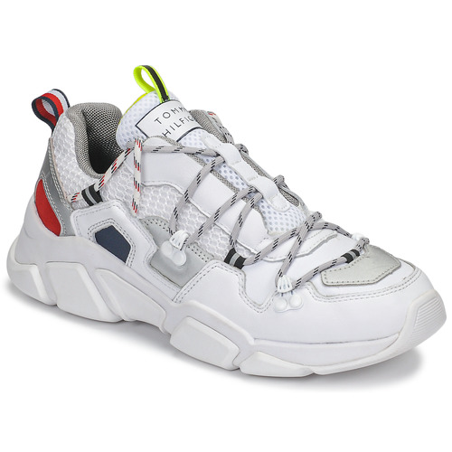 Shoes Women Low top trainers Tommy Hilfiger CITY VOYAGER CHUNKY SNEAKER White