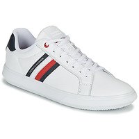 Shoes Men Low top trainers Tommy Hilfiger ESSENTIAL LEATHER CUPSOLE White