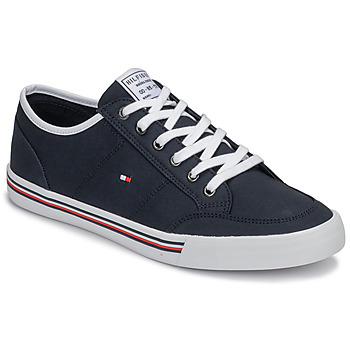 Shoes Men Low top trainers Tommy Hilfiger CORE CORPORATE TEXTILE SNEAKER Blue