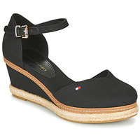 Shoes Women Sandals Tommy Hilfiger BASIC CLOSED TOE MID WEDGE Black