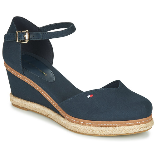 Shoes Women Sandals Tommy Hilfiger BASIC CLOSED TOE MID WEDGE Blue
