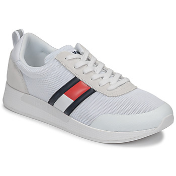 Shoes Men Low top trainers Tommy Jeans FLEXI TOMMY JEANS FLAG SNEAKER White