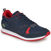 Shoes Men Low top trainers Lacoste AESTHET 120 2 SMA Blue / Red