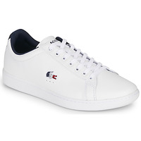 Shoes Men Low top trainers Lacoste CARNABY EVO TRI1 SMA White