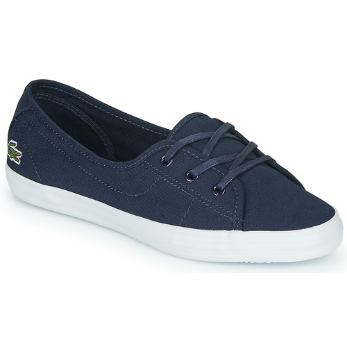 Shoes Women Low top trainers Lacoste ZIANE CHUNKY BL 2 CFA Marine