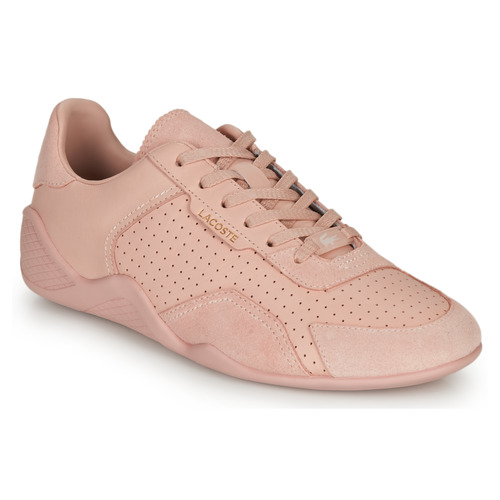 Shoes Women Low top trainers Lacoste HAPONA 120 2 CFA Pink