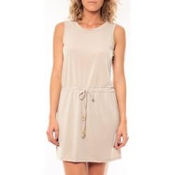 Clothing Women Short Dresses Vera & Lucy Robe Kapp Marron Brown