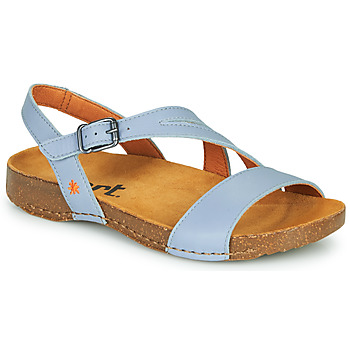 Shoes Women Sandals Art I BREATHE Blue