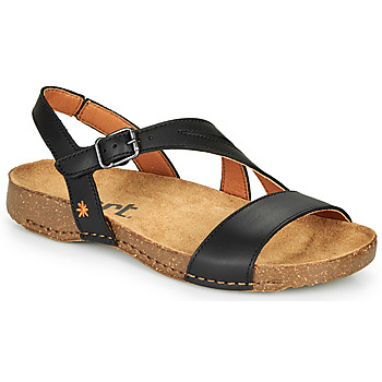 Shoes Women Sandals Art I BREATHE Black