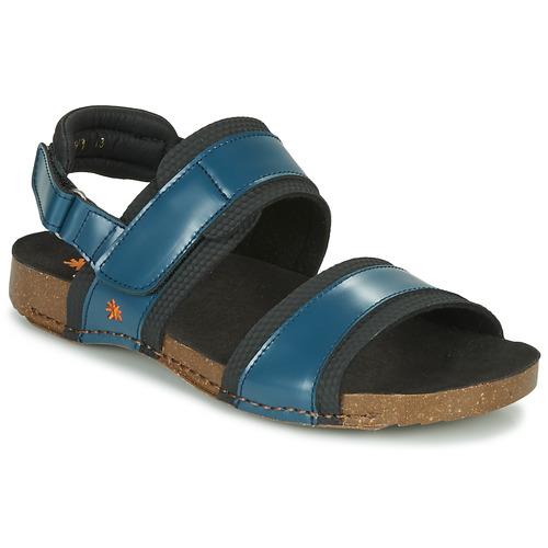 Shoes Men Sandals Art I BREATHE Blue