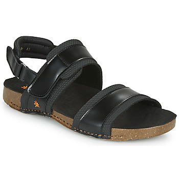 Shoes Men Sandals Art I BREATHE Black