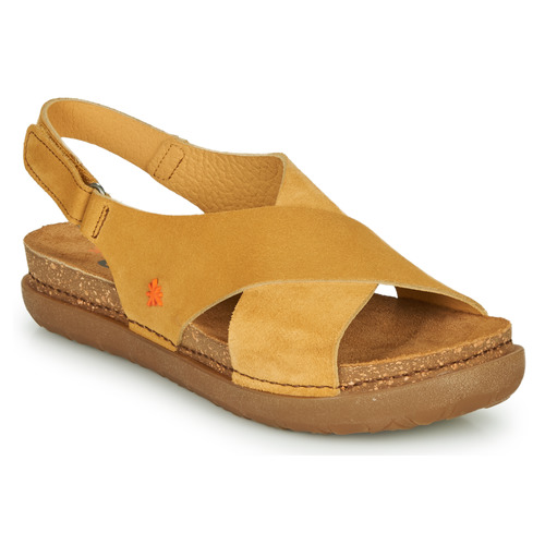 Shoes Women Sandals Art RHODES Mustard