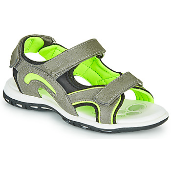 Shoes Boy Outdoor sandals Chicco CEDDER Grey / Green