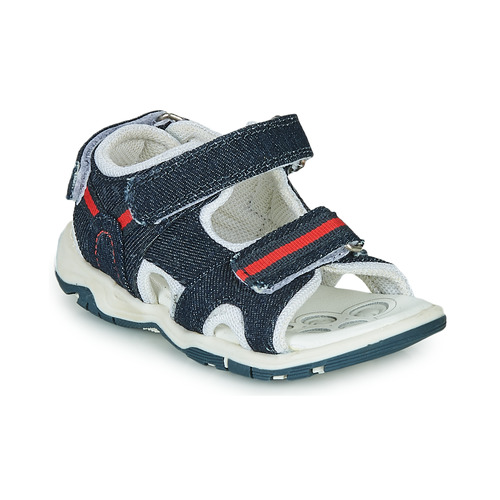 Shoes Boy Outdoor sandals Chicco COLBY Blue / Red