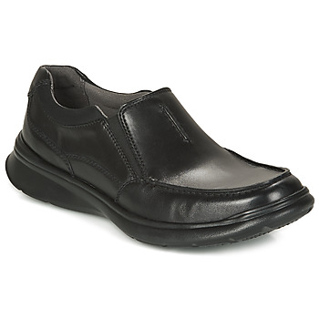 Shoes Men Loafers Clarks Cotrell Free  black