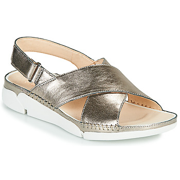 Shoes Women Sandals Clarks Tri Alexia Silver