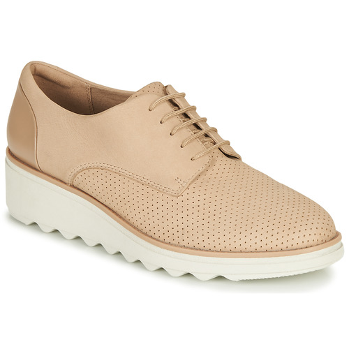 Shoes Women Derby Shoes Clarks Sharon Crystal Pink