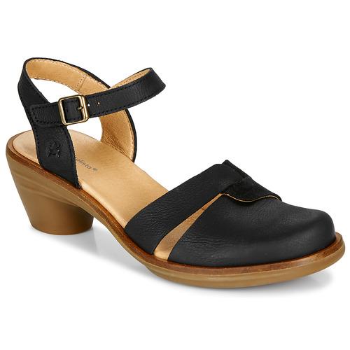 Shoes Women Sandals El Naturalista AQUA Black