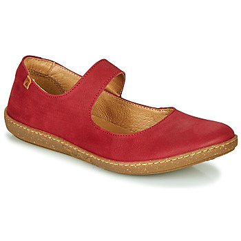 Shoes Women Flat shoes El Naturalista CORAL Red