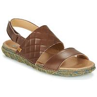 Shoes Women Sandals El Naturalista REDES Brown