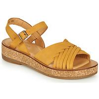 Shoes Women Sandals El Naturalista TÜLBEND Yellow