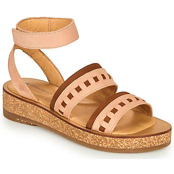 Shoes Women Sandals El Naturalista TÜLBEND Pink / Brown