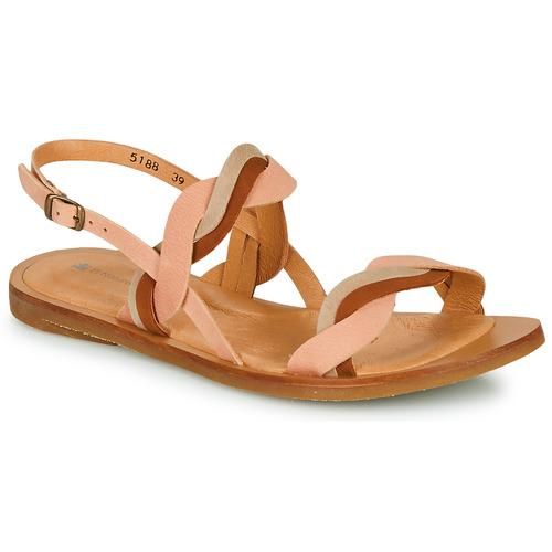 Shoes Women Sandals El Naturalista TULIP Pink / Brown / Beige