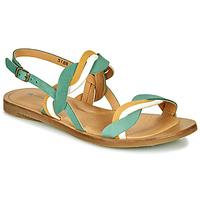 Shoes Women Sandals El Naturalista TULIP Green / Yellow / White