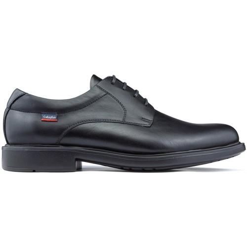 Shoes Men Derby Shoes CallagHan TORO CEDRON SHOES BLACK