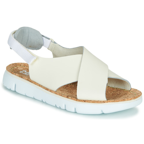 Shoes Women Sandals Camper Oruga Sandal Beige