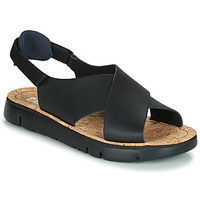 Shoes Women Sandals Camper Oruga Sandal  black